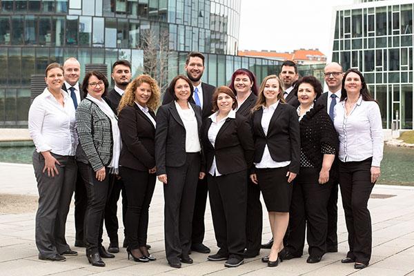 Gruppenfoto der Firma Together CCA