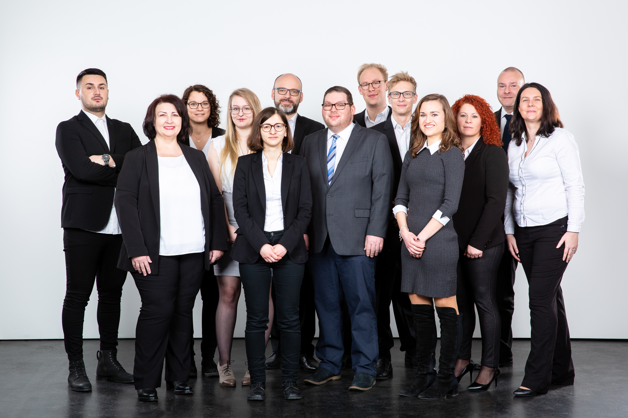 Gruppenfoto der Firma Together CCA